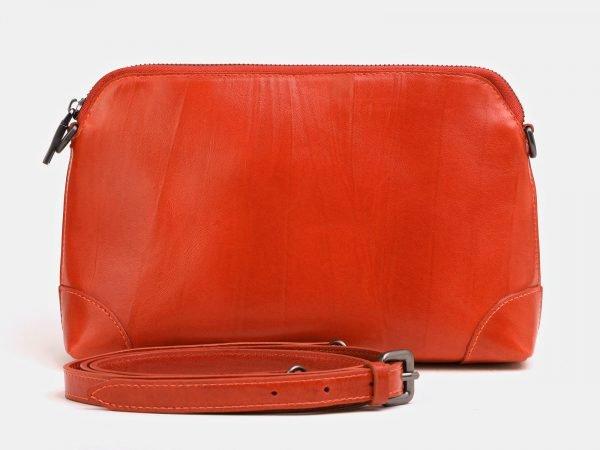 Солидная оранжевая женская сумка ATS-3851