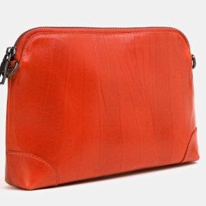 Солидная оранжевая женская сумка ATS-3851 210886