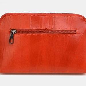 Солидная оранжевая женская сумка ATS-3851 210887