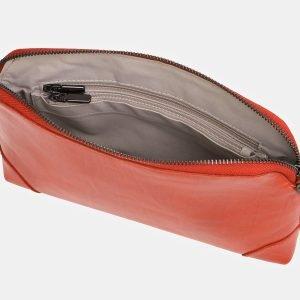 Солидная оранжевая женская сумка ATS-3851 210888