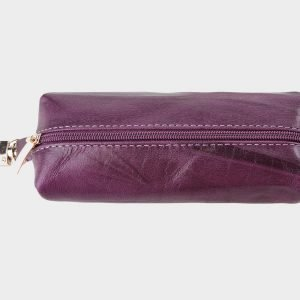 Кожаная фиолетовая ключница ATS-748 217149