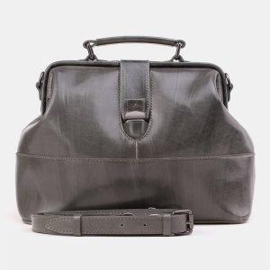 Вместительная серая женская сумка ATS-3869