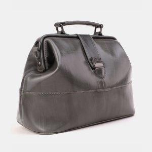 Вместительная серая женская сумка ATS-3869 210811