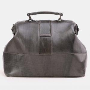 Вместительная серая женская сумка ATS-3869 210812