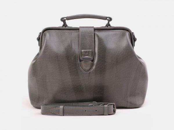 Деловая серая женская сумка ATS-3868