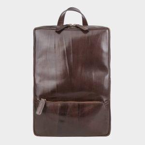Функциональный коричневый рюкзак кожаный ATS-3525