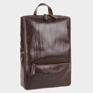 Стильный коричневый рюкзак кожаный ATS-3525