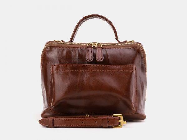 Неповторимая светло-коричневая женская сумка ATS-3872