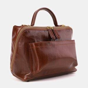 Неповторимая светло-коричневая женская сумка ATS-3872 210796