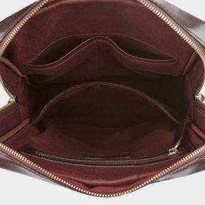 Неповторимый коричневый мужской портфель ATS-705