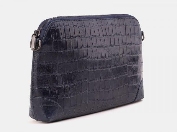 Вместительная синяя женская сумка ATS-3880