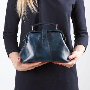 Уникальная синяя женская сумка ATS-795 217144