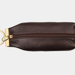 Стильная коричневая ключница ATS-1325 216822