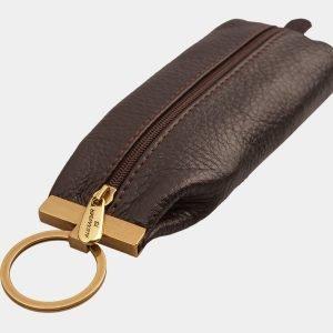Стильная коричневая ключница ATS-1325