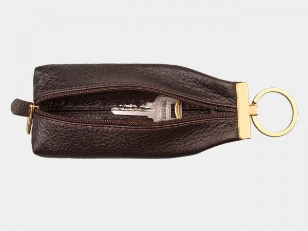 Модная коричневая ключница ATS-1325