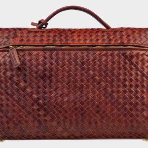 Модный светло-коричневый мужской портфель ATS-1612 216625
