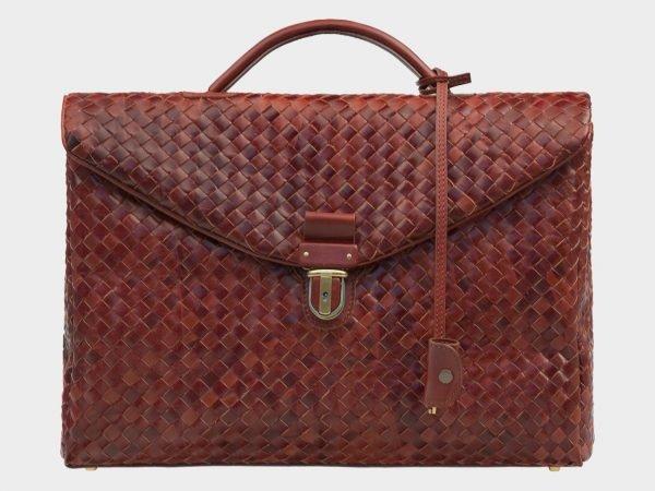 Модный светло-коричневый мужской портфель ATS-1612