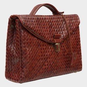 Модный светло-коричневый мужской портфель ATS-1612 216624