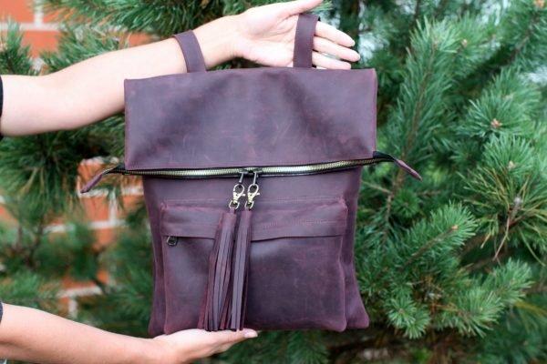 Удобный фиолетовый рюкзак BNZ-1605