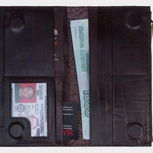 Стильный коричневый портмоне ATS-1615 216615