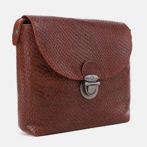 Удобный светло-коричневый женский клатч ATS-3884 210746
