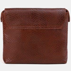 Удобный светло-коричневый женский клатч ATS-3884 210747