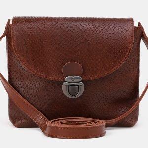 Неповторимый светло-коричневый женский клатч ATS-3884