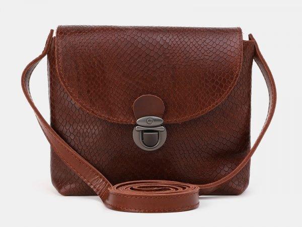 Удобный светло-коричневый женский клатч ATS-3884