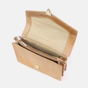 Функциональная бежевая женская сумка на пояс ATS-3881 210763