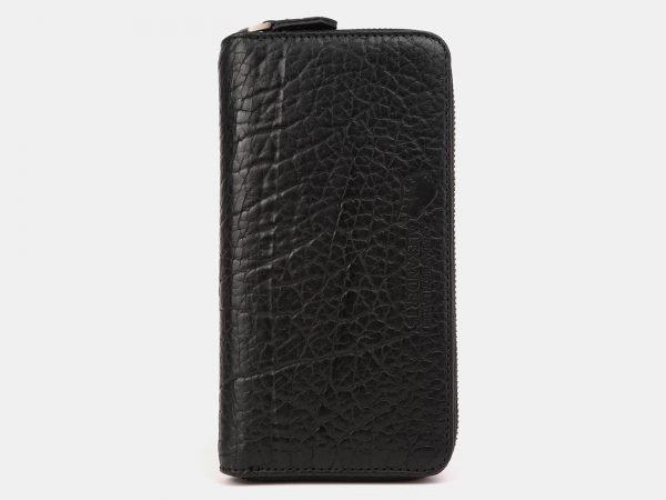 Стильный черный портмоне ATS-3886