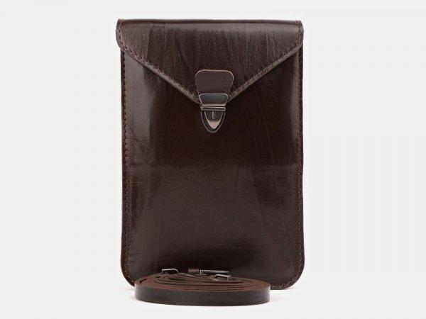 Уникальный коричневый женский клатч ATS-3893