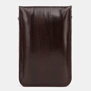 Удобный коричневый женский клатч ATS-3893