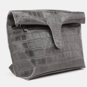 Функциональный серый женский клатч ATS-3892 210688