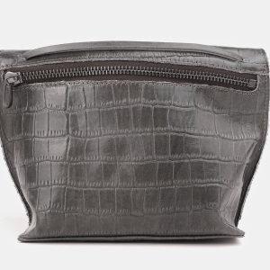 Функциональный серый женский клатч ATS-3892 210691