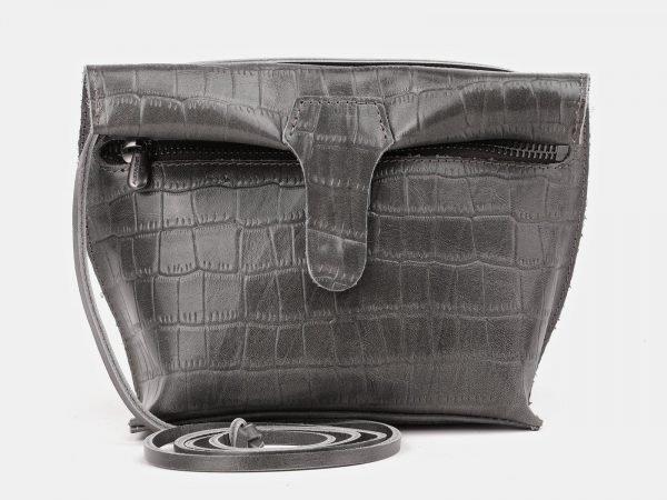 Функциональный серый женский клатч ATS-3892