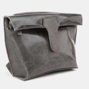 Солидный серый женский клатч ATS-3891 210699