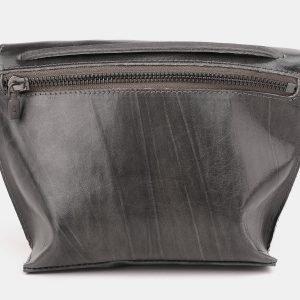 Функциональный серый женский клатч ATS-3891 210701