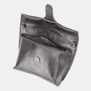 Функциональный серый женский клатч ATS-3891 210703
