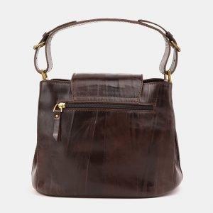 Деловая коричневая сумка с росписью ATS-3901 210640