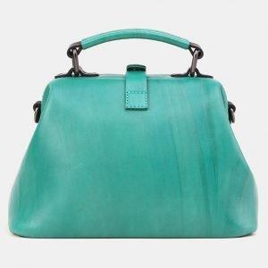 Неповторимая зеленая сумка с росписью ATS-3908 210605