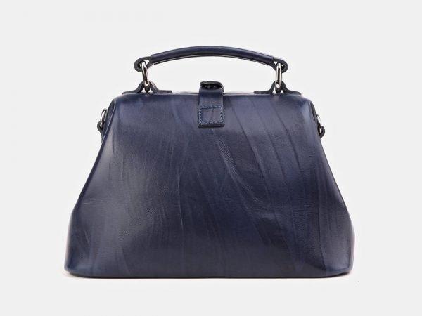 Деловая синяя сумка с росписью ATS-3911