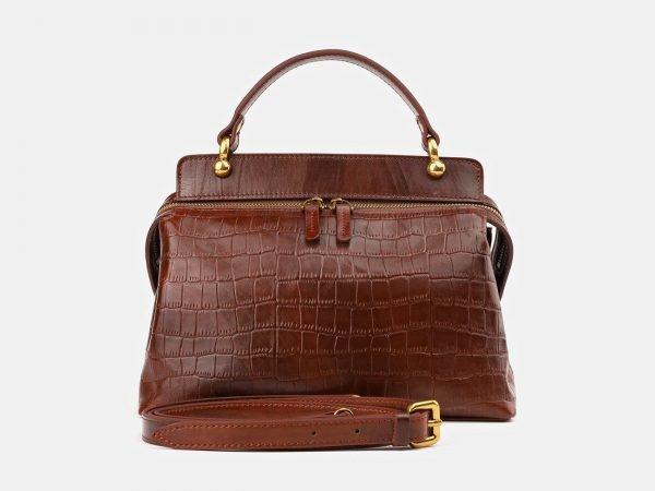 Удобная светло-коричневая женская сумка ATS-3912
