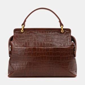 Удобная светло-коричневая женская сумка ATS-3912 210586
