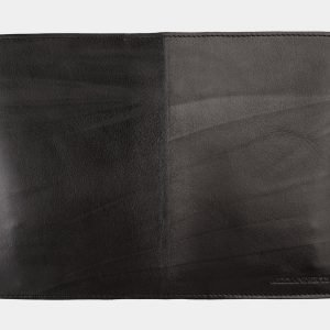 Кожаная черная обложка для паспорта ATS-1172 217001