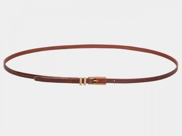 Удобный светло-коричневый женский модельный ремень ATS-1222