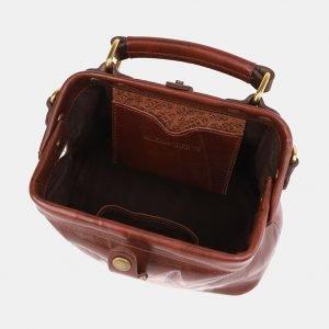 Неповторимая светло-коричневая сумка с росписью ATS-3920 210550