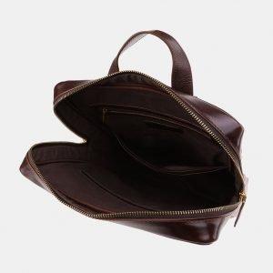 Модный коричневый рюкзак с росписью ATS-3919 210555