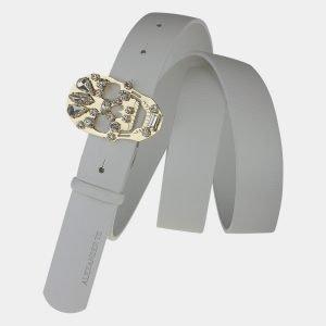 Уникальный белый женский модельный ремень ATS-1644 216590