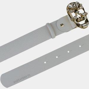 Уникальный белый женский модельный ремень ATS-1644 216589
