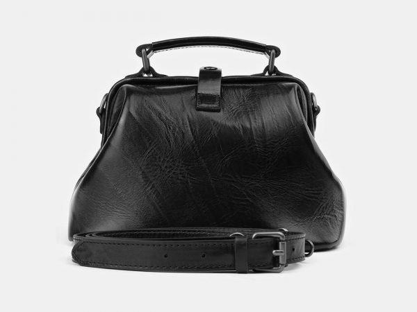 Модная черная женская сумка ATS-3917